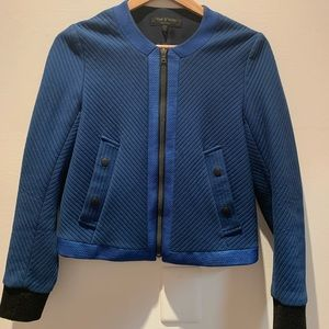 Rag and bone blue jacket